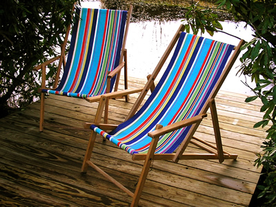 Yachting Deckchair Canvas on a Vintage Deckchairs with Arms - Deck Chairs Vintage Wooden Deckchairs Traditional Folding Deck