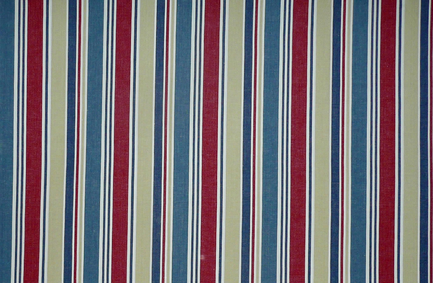 Dark blue, red, beige and white stripe Windbreak