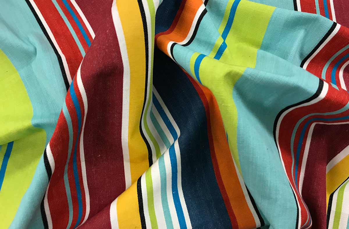 Beach Windbreaks  bright fun stripe