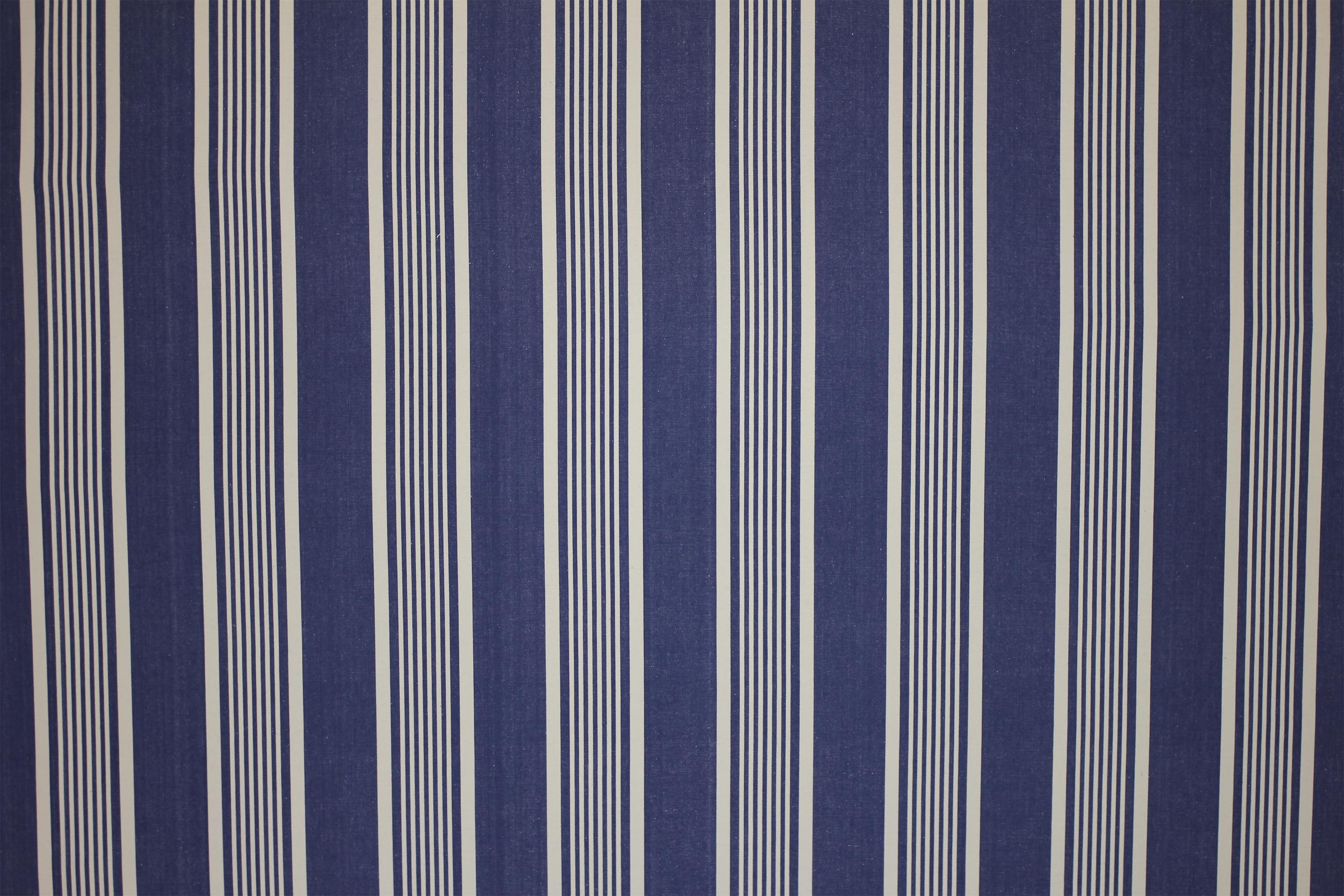 Snowboarding Navy Blue Striped Fabric The Stripes Company Uk