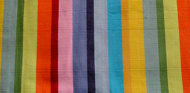 Rainbow Striped Hammock