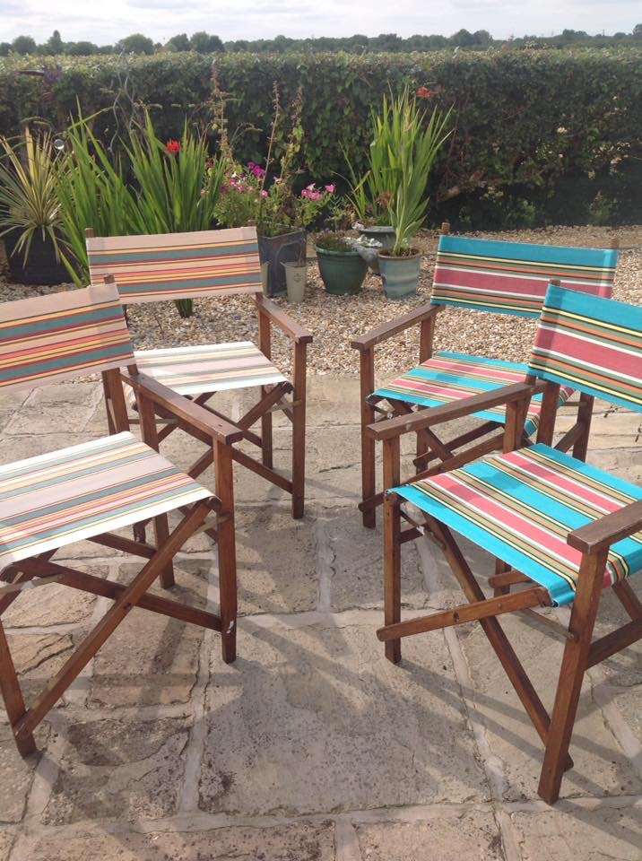 newly recovered Directors chairs
