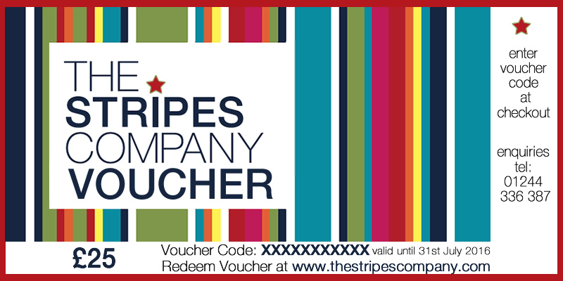 The Stripes Company Gift Vouchers