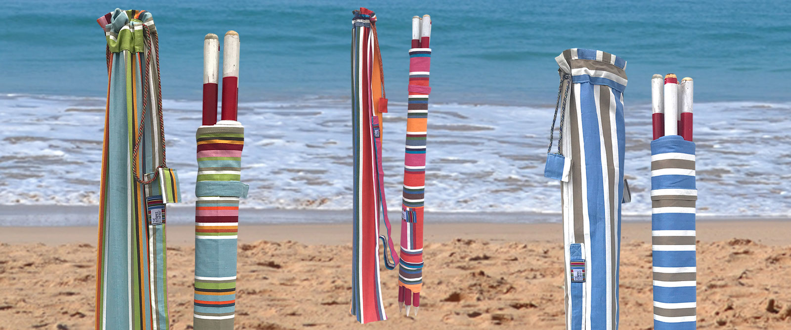 supplement for 5 pole windbreak on top of 4 pole price- Beach Windbreaks