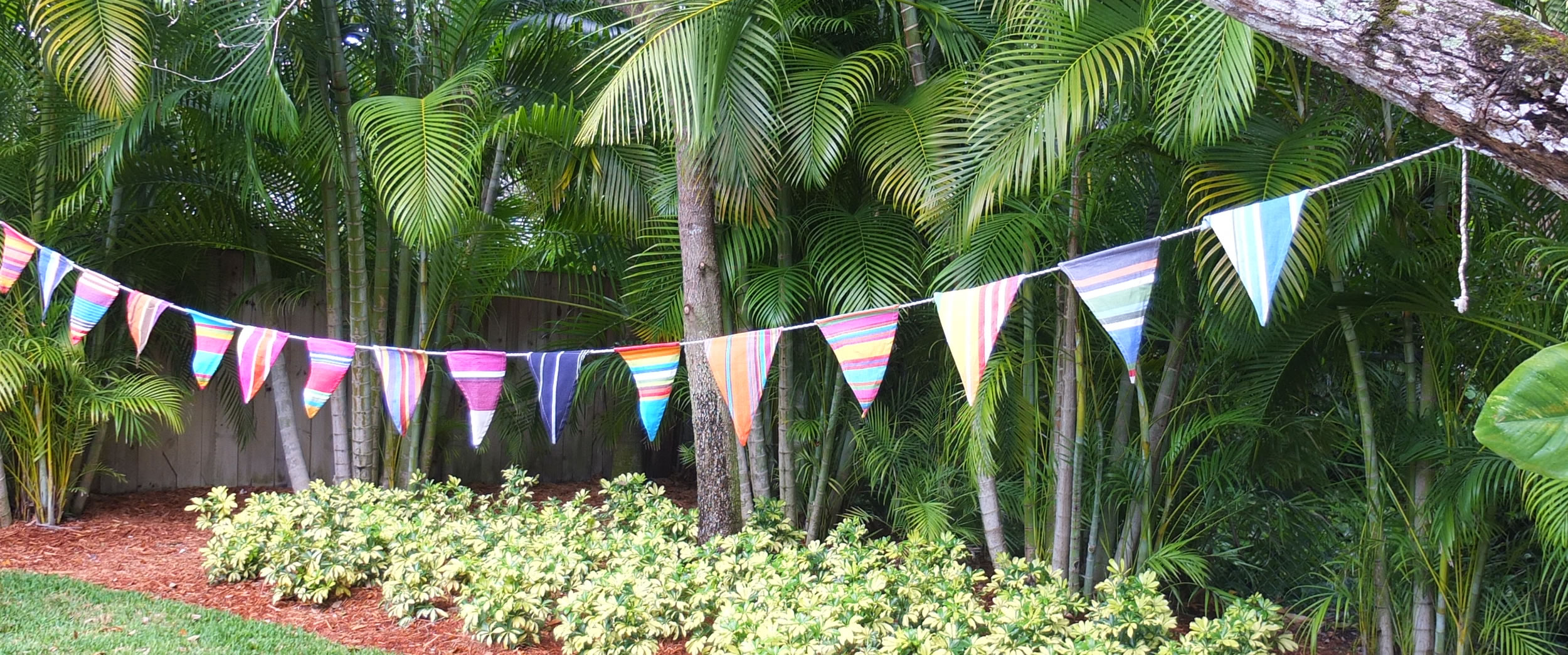 Party Bunting | Striped Bunting | Nautical Bunting
