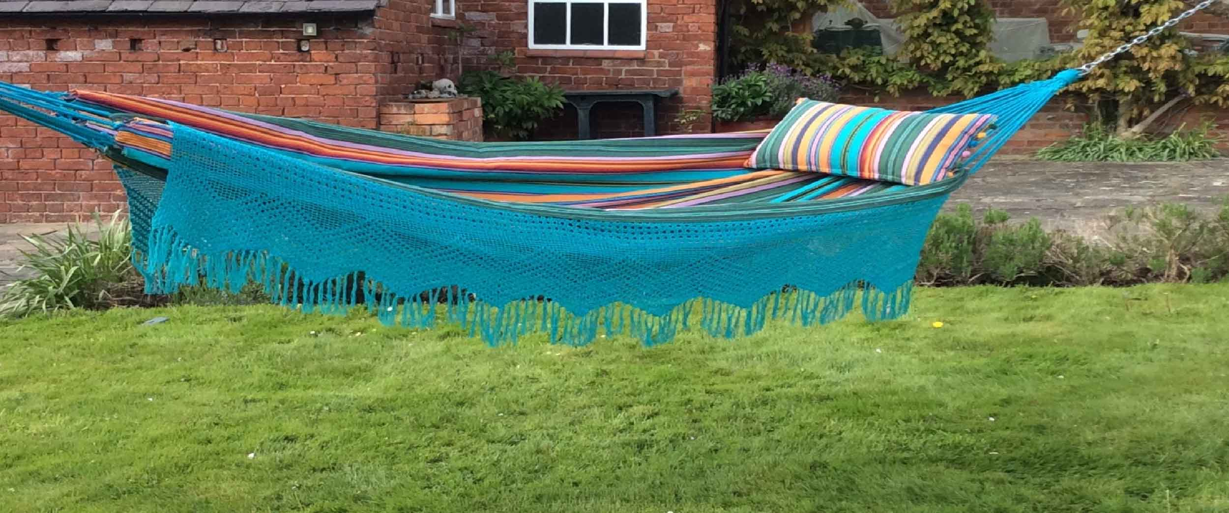 Hammock with Fringing