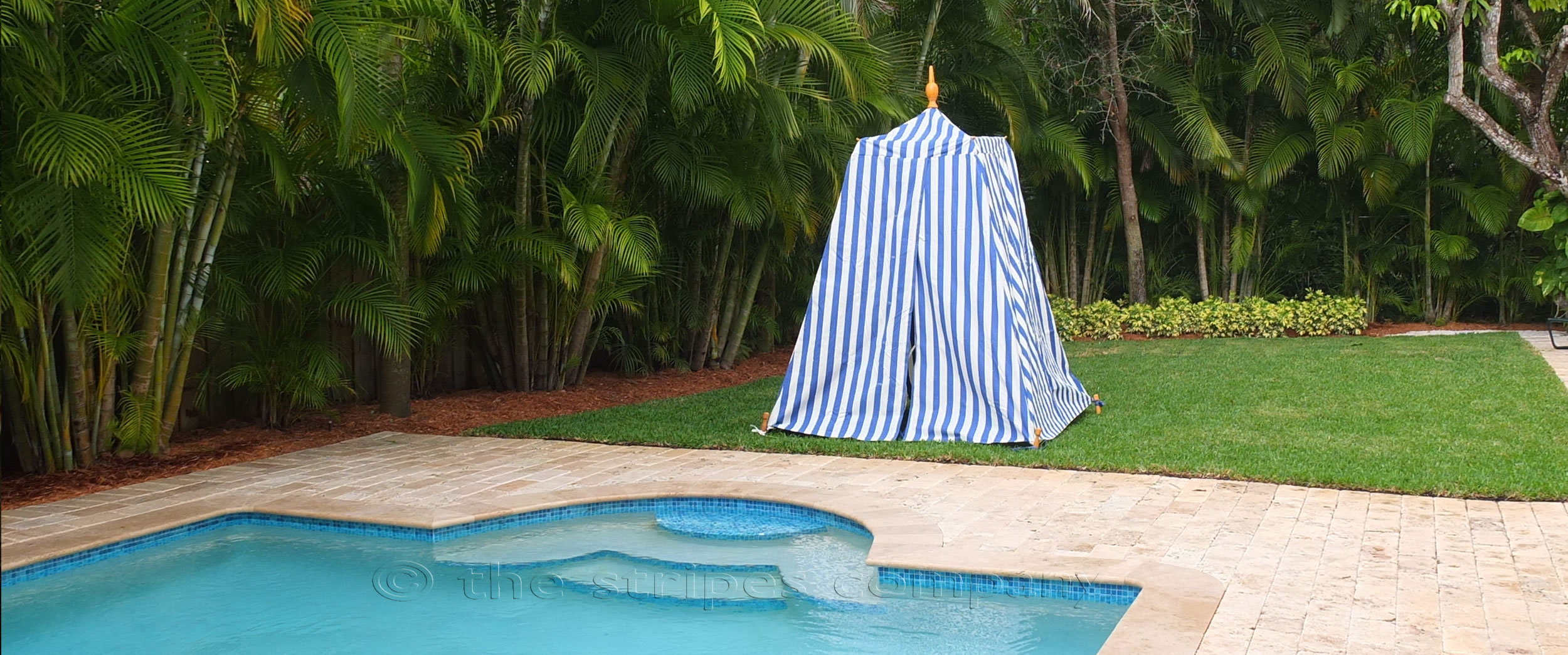 Striped Beach Tents | Empire Bathing Tents in Classic Stripes