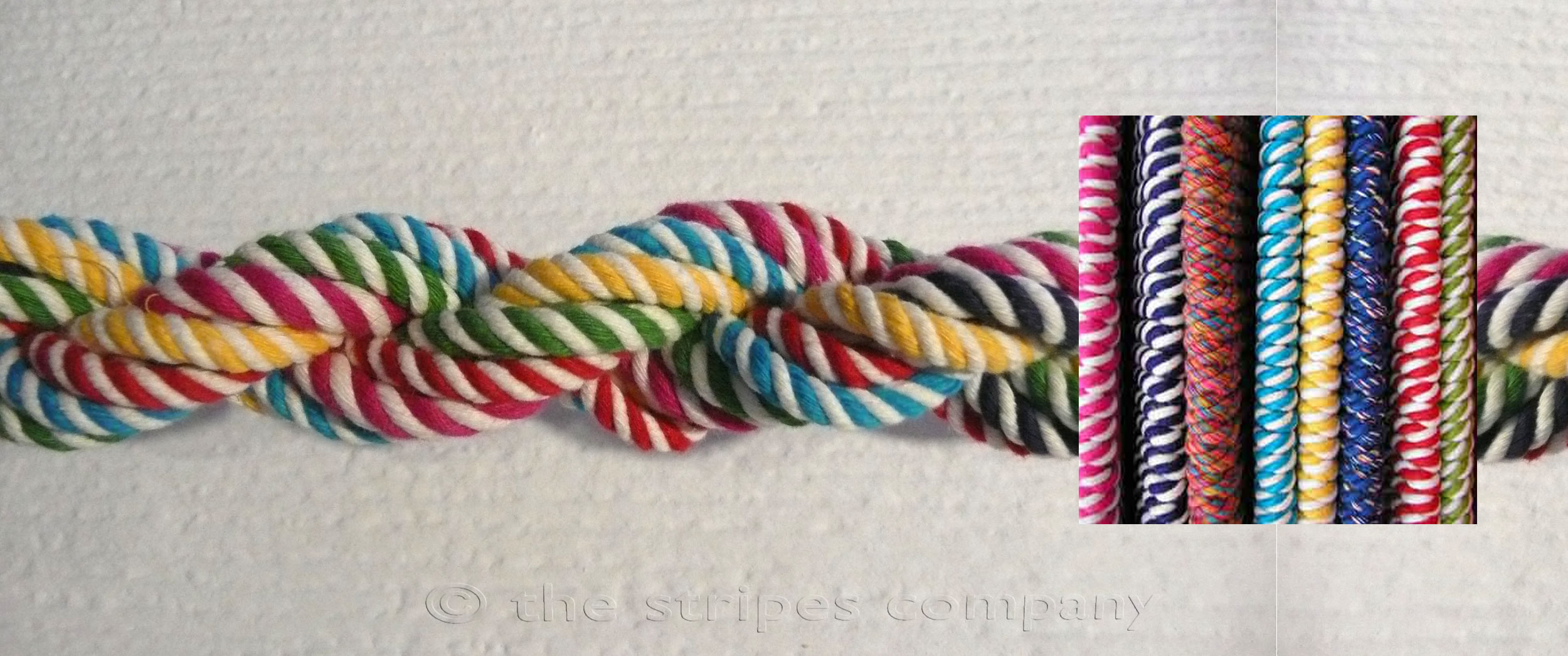 Striped Cord | Striped Rope