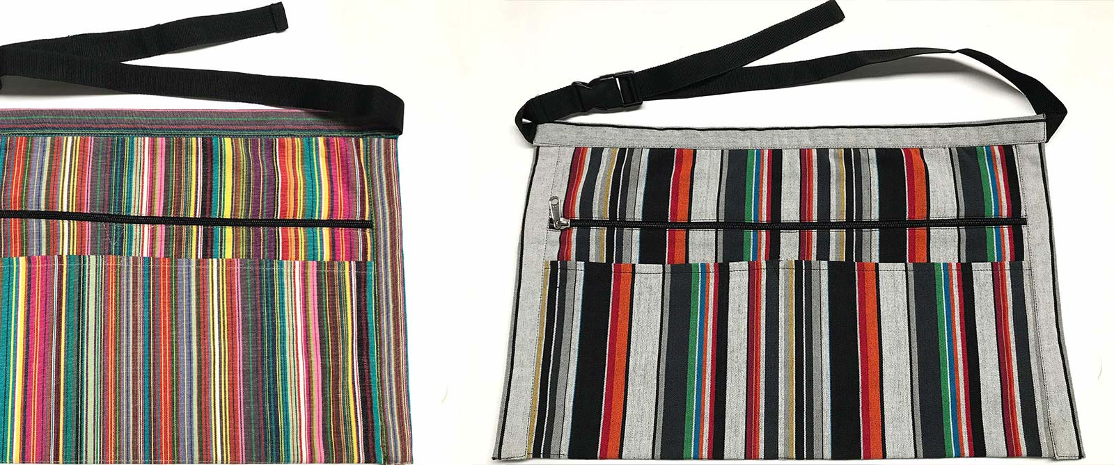 Striped Money Aprons - Money Beltss