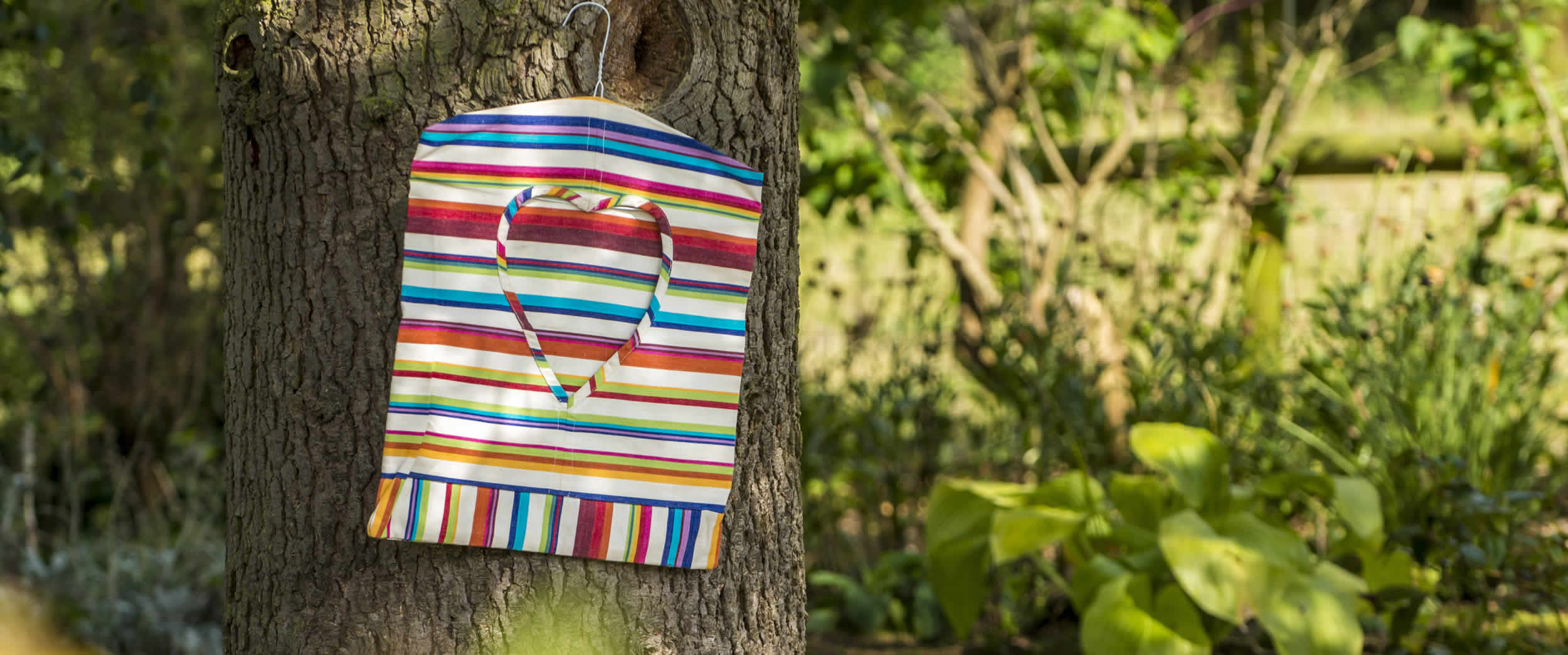 Peg Bags | Striped Peg Bag