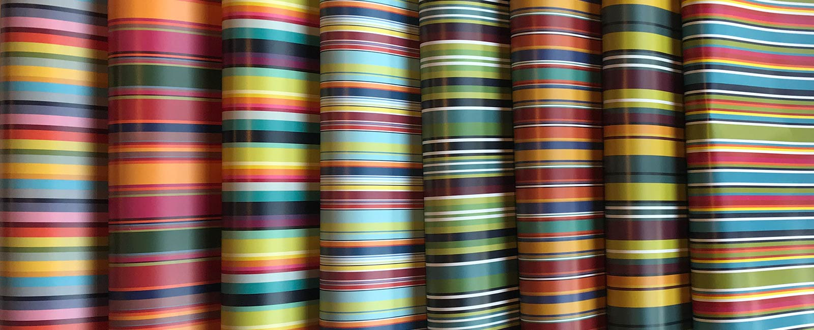 Striped Gift Wrap - Stripe Wrapping Paper