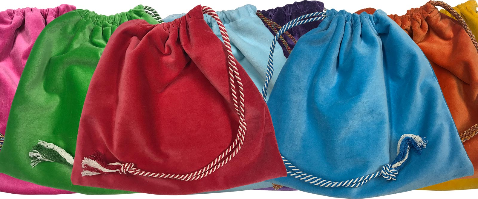 Velvet Handbag Pouches with Drawstring