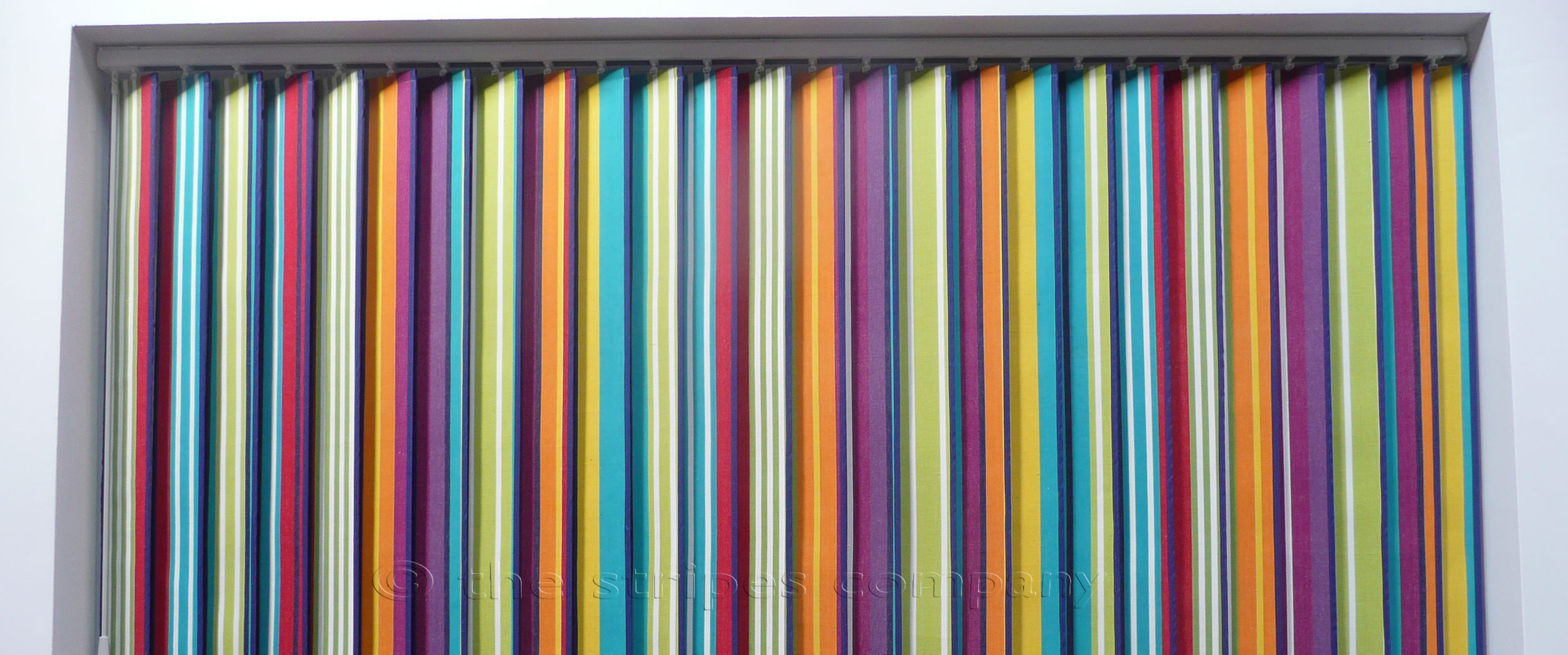 Striped Vertical Blinds | The Stripes Company UK