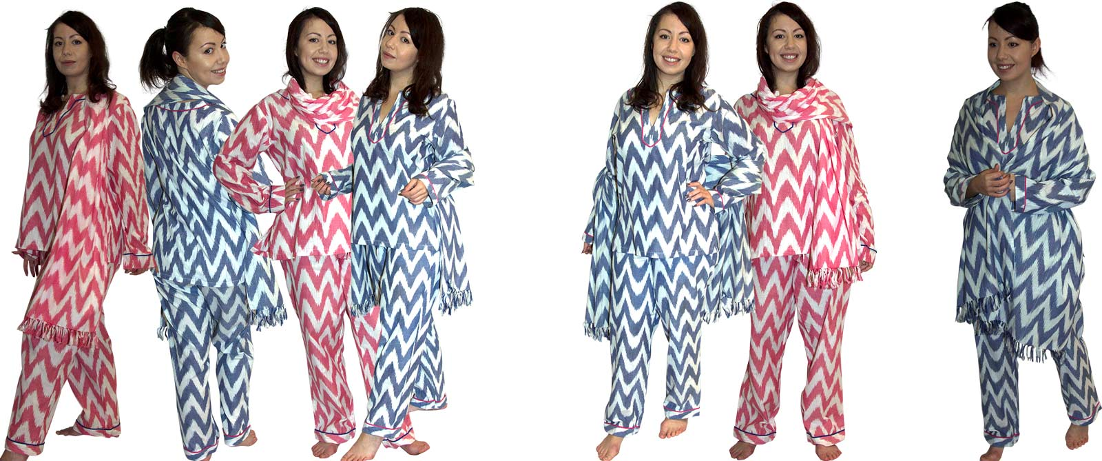 Three Piece Lounging Pyjama Set