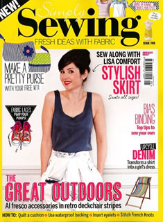 Simply Sewing Magazine July 2015