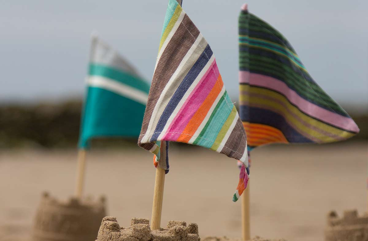 Sandcastle Flags Pack of 3