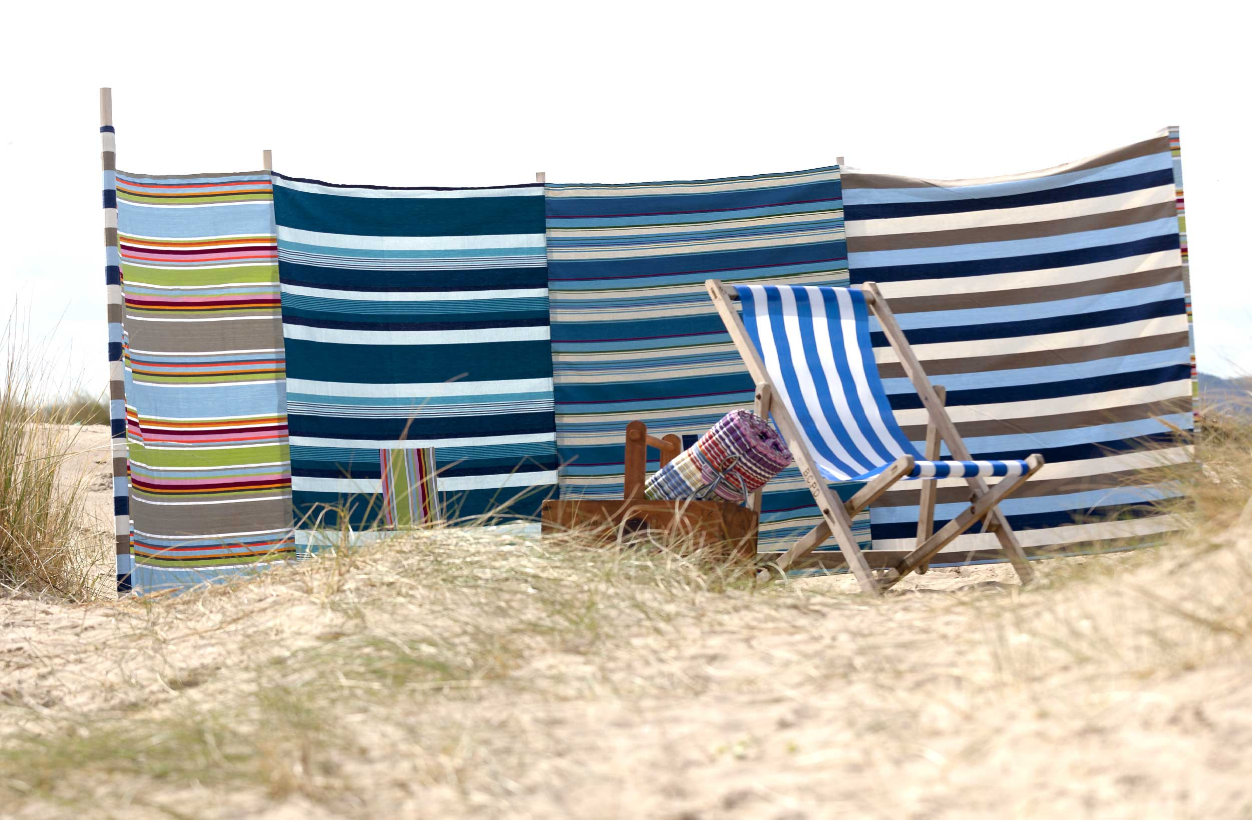 Extra Large Seaside Beach Windbreaks