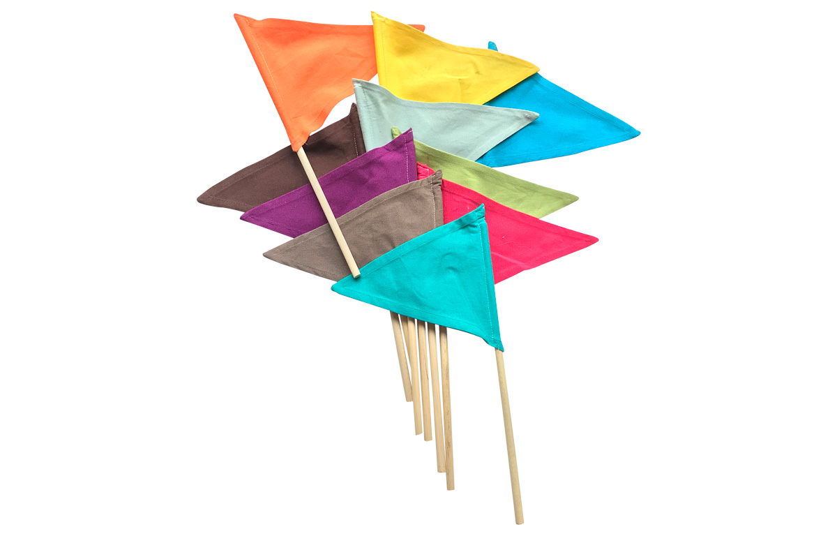 Rainbow Sandcastle Flags | Flags in Rainbow Colours