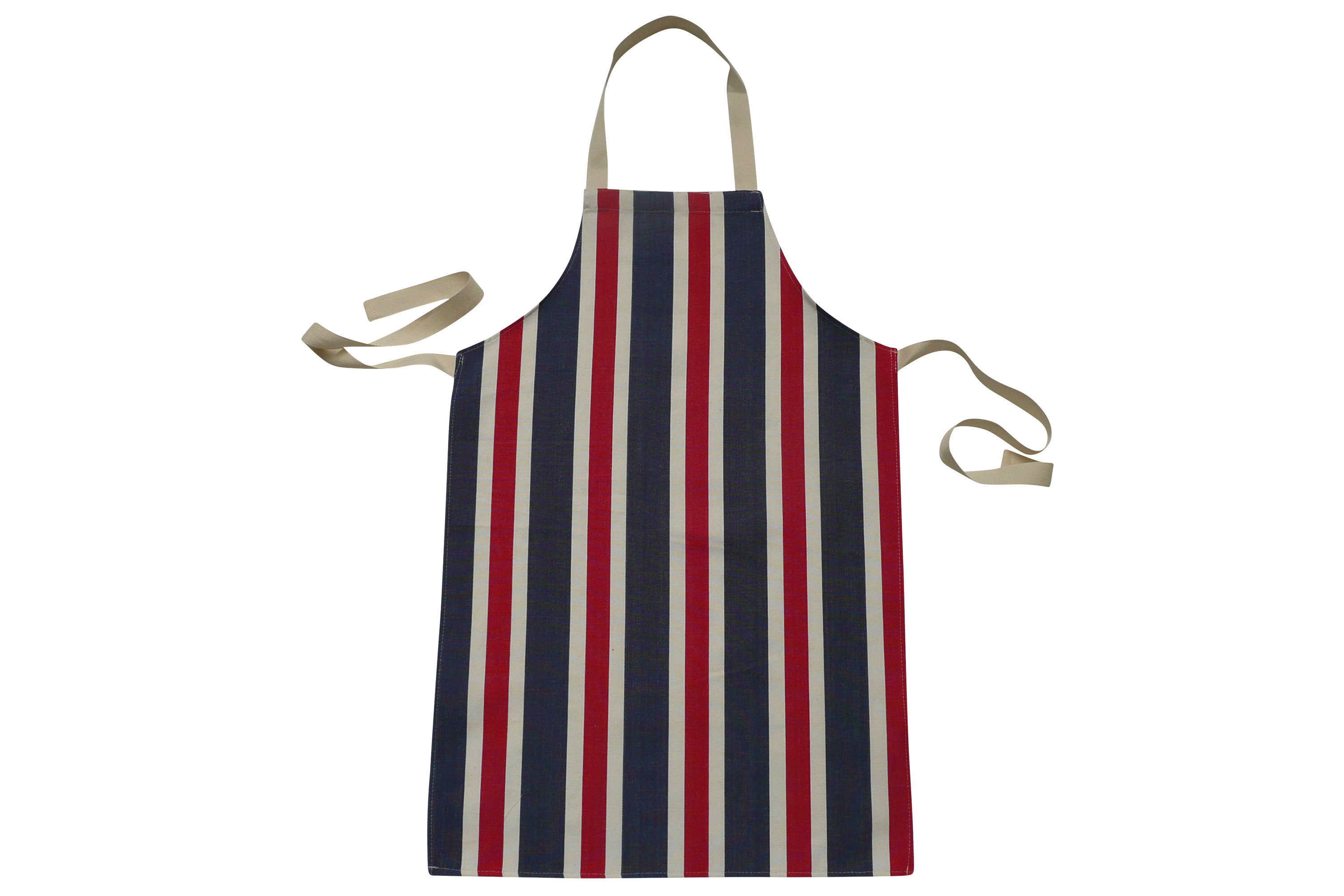 Striped Kids Aprons | Aprons for Children blue, red, white