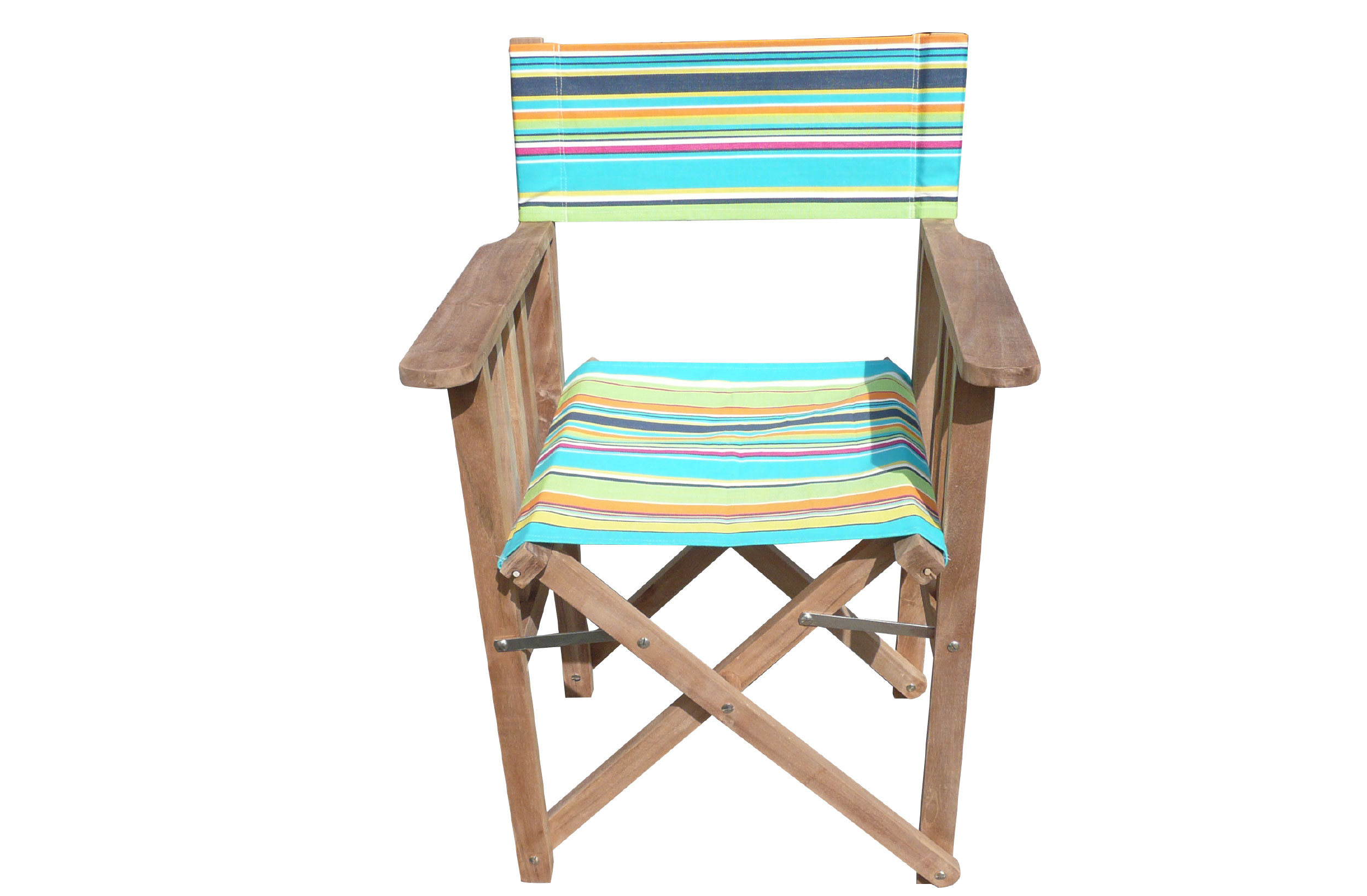 turquoise, lime, navy - Directors Chairs