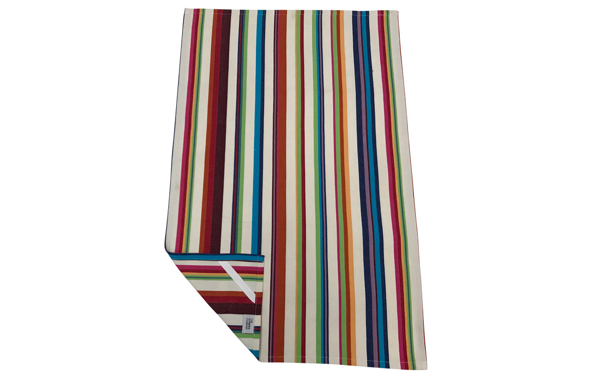 Cream Stripe Tea Towels