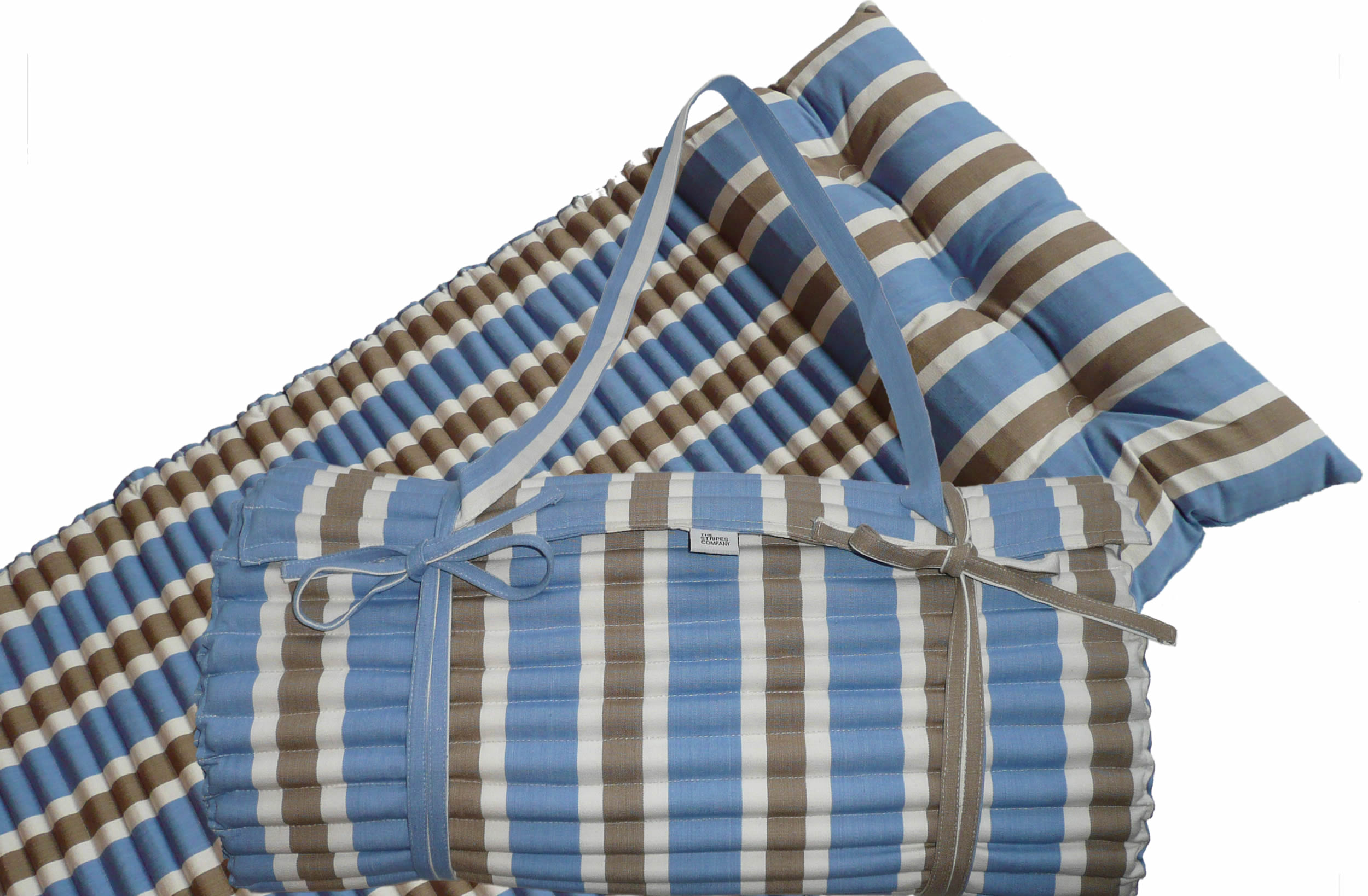 blue beach mats roll up beach mattress with pillow