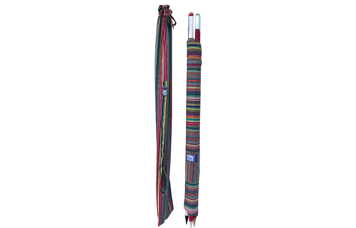 Beach Windbreak - Rainbow Multi Stripe