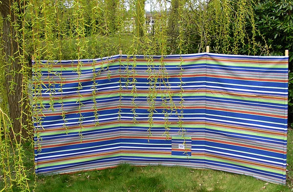 royal blue, white, red - Beach Windbreaks
