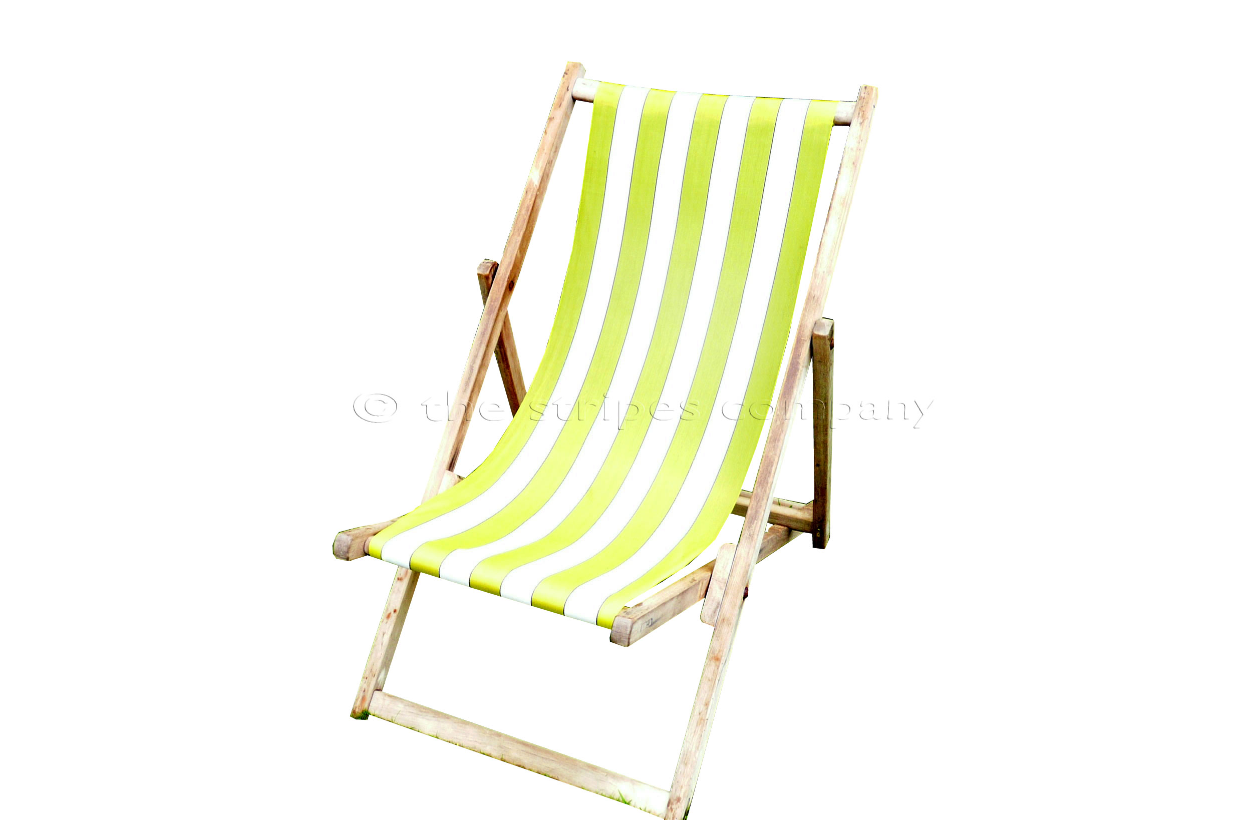 Buy Blackpool Deckchairs with New Yellow and White Sling