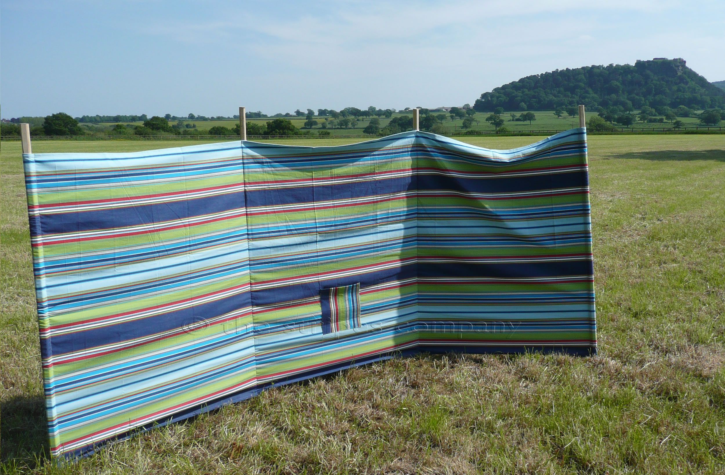 navy, pale blue, turquoise - Beach Windbreaks