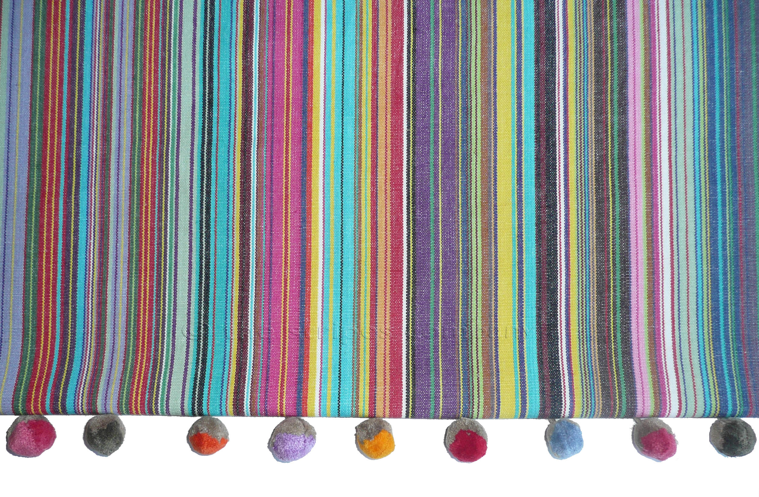 886de037ac0 Mahjong Interior Striped Fabric 150cm. Mahjong Rainbow Striped Fabric