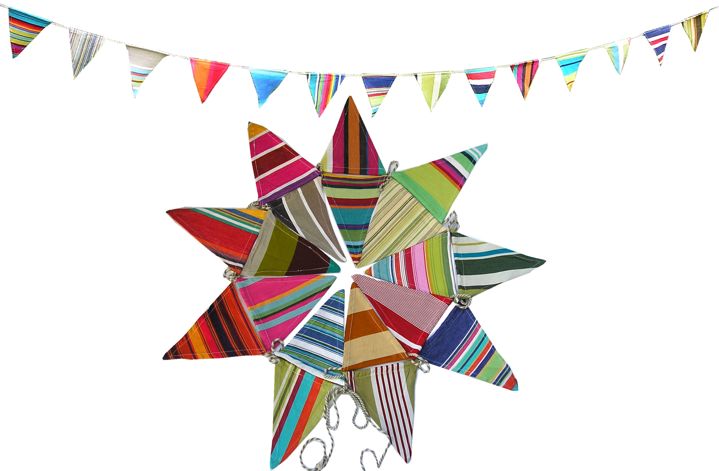 Striped Party Bunting