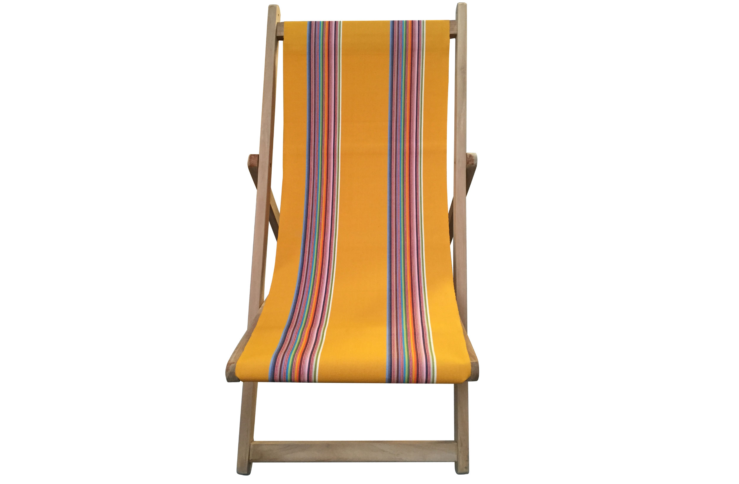 yellow, rainbow- Deckchairs | Buy Folding Wooden Deck Chairs