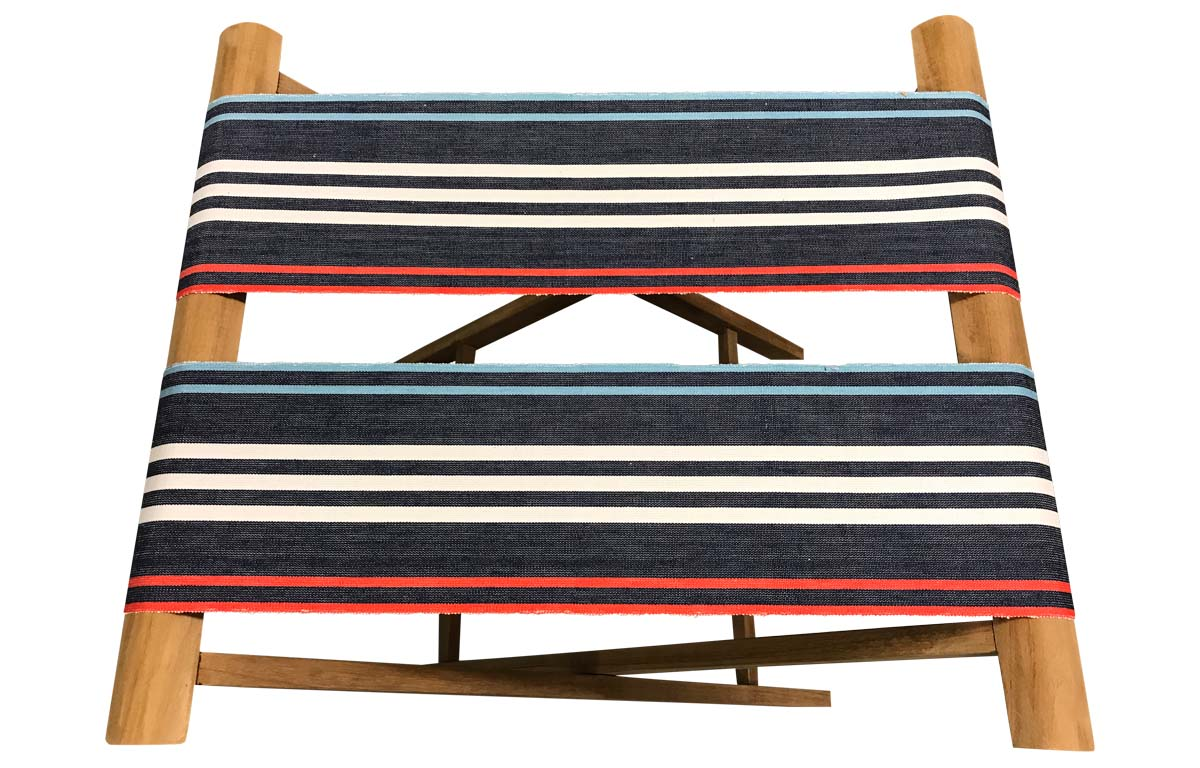 navy blue, pale blue, red - Folding Luggage Racks