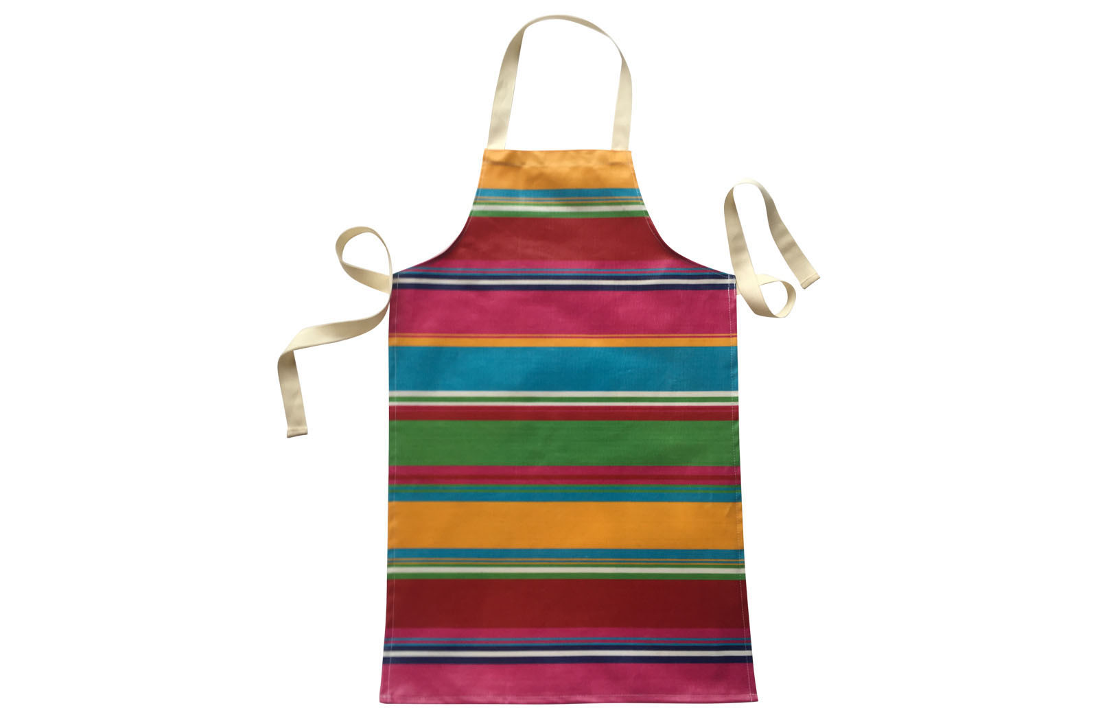 Pink Striped Childrens PVC Aprons
