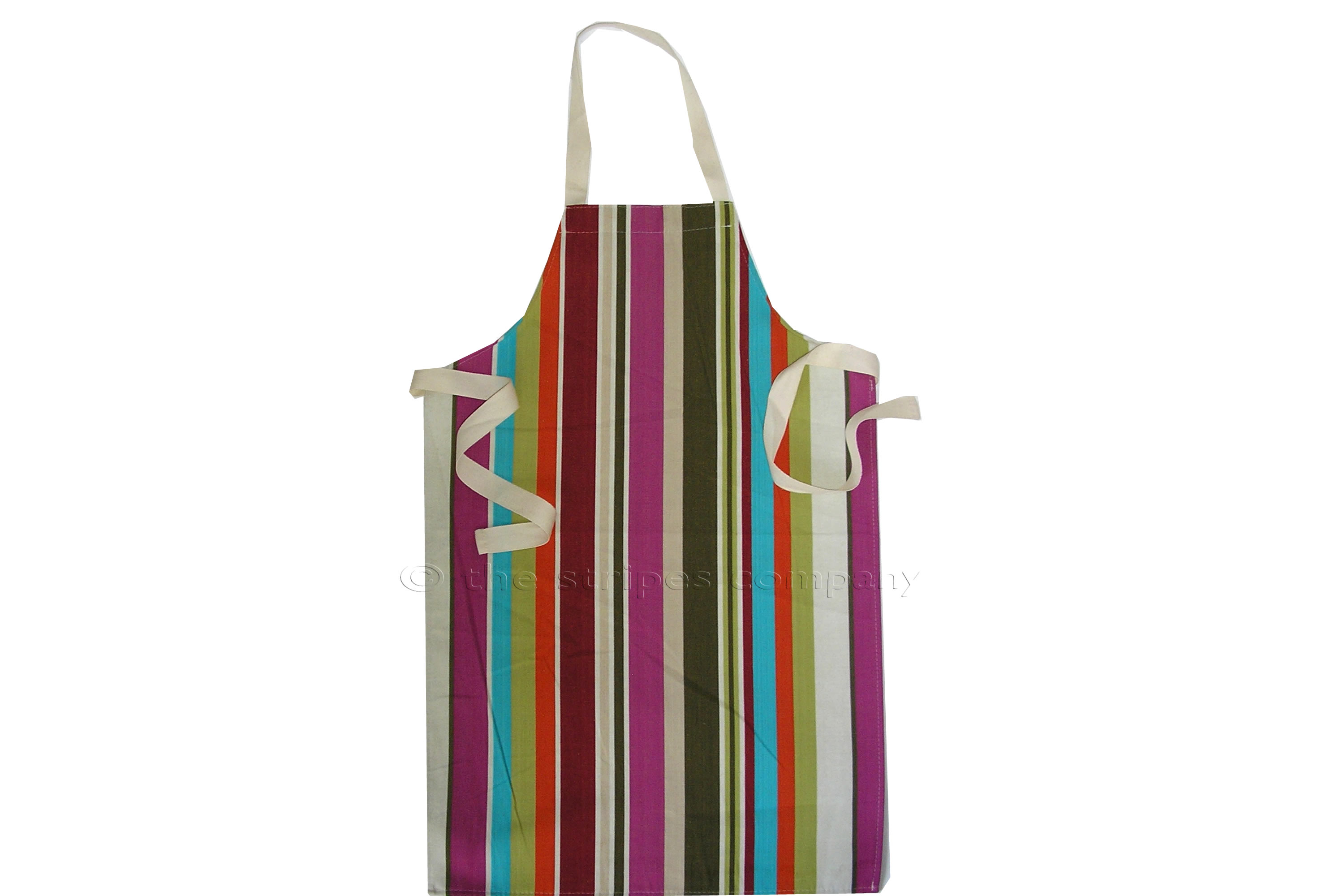 Cream Striped Kids Aprons | Aprons for Children