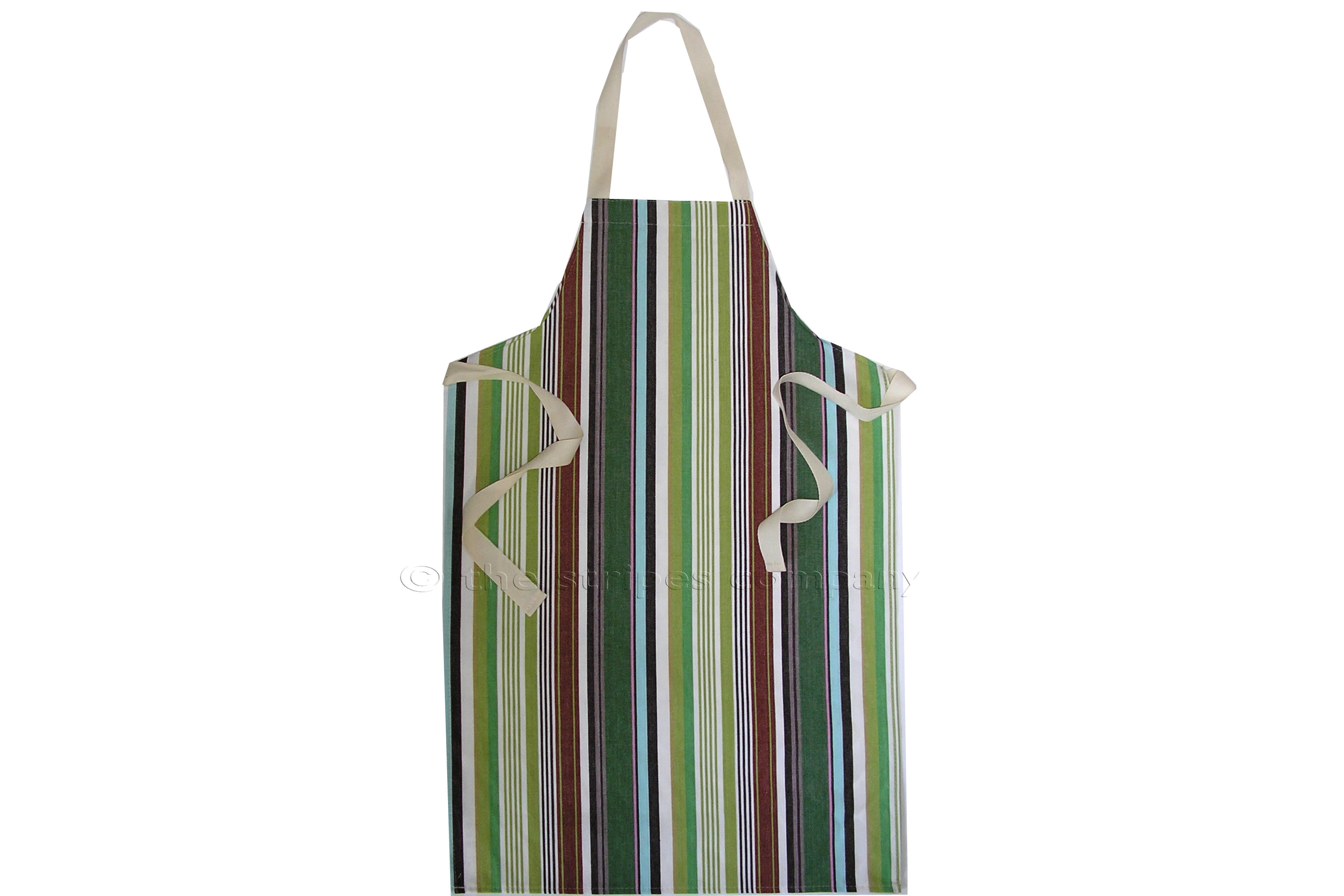 Green Striped Kids Aprons | Aprons for Children  Stripes