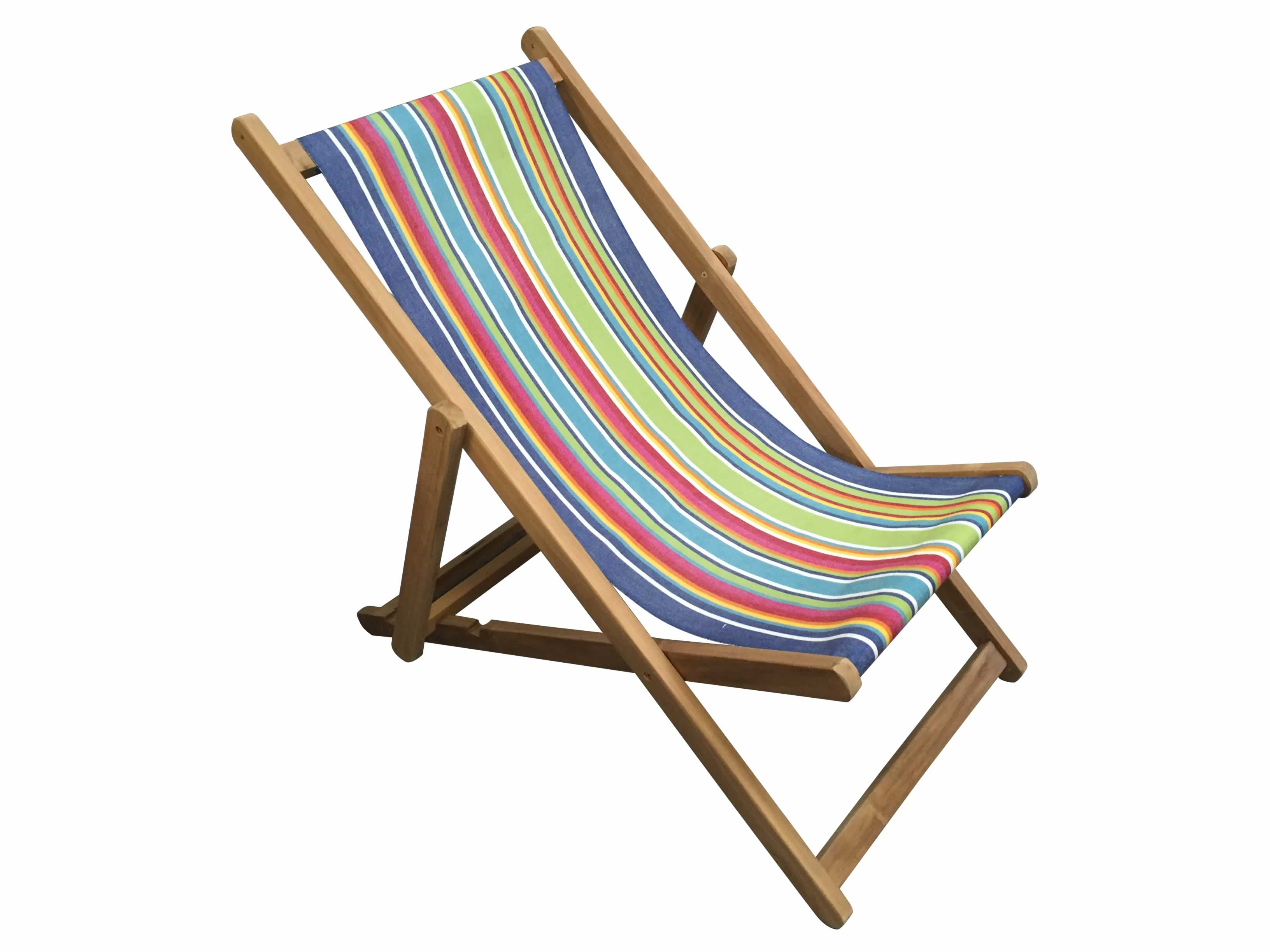 blue, green, red - Deckchair Canvas | Deckchair Fabrics | Striped Deck Chair Fabrics