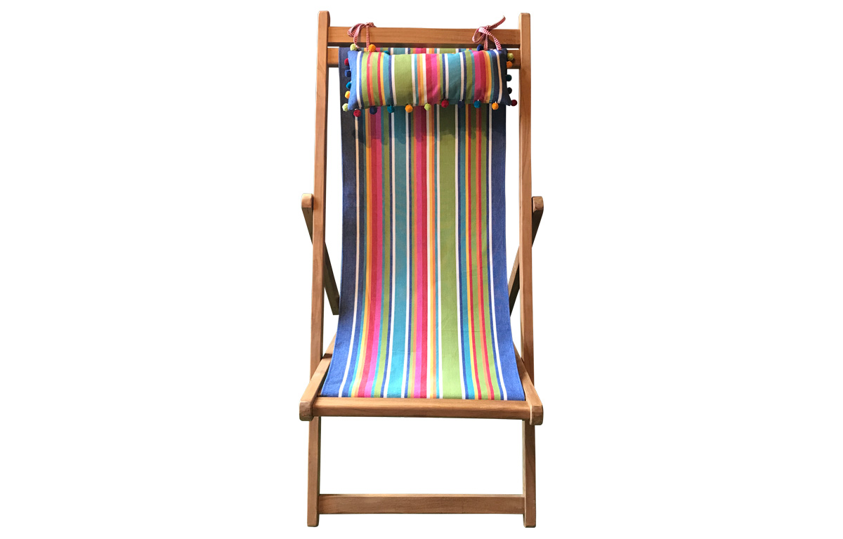 Stripe Headrests for Deck Chairs