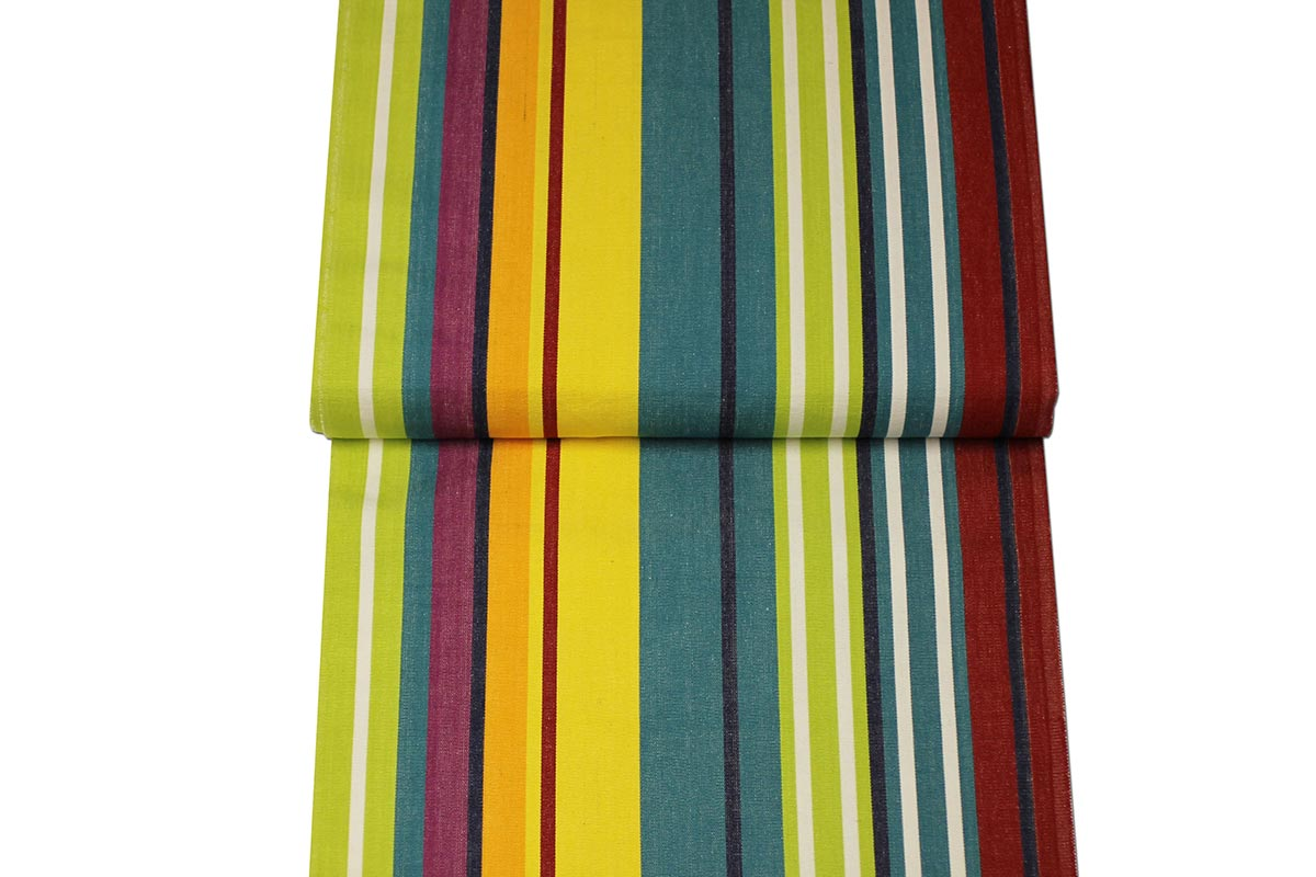 Turquoise Deckchair Canvas | Deckchair Fabrics | Striped Deck Chair Fabrics Aerobics Stripes