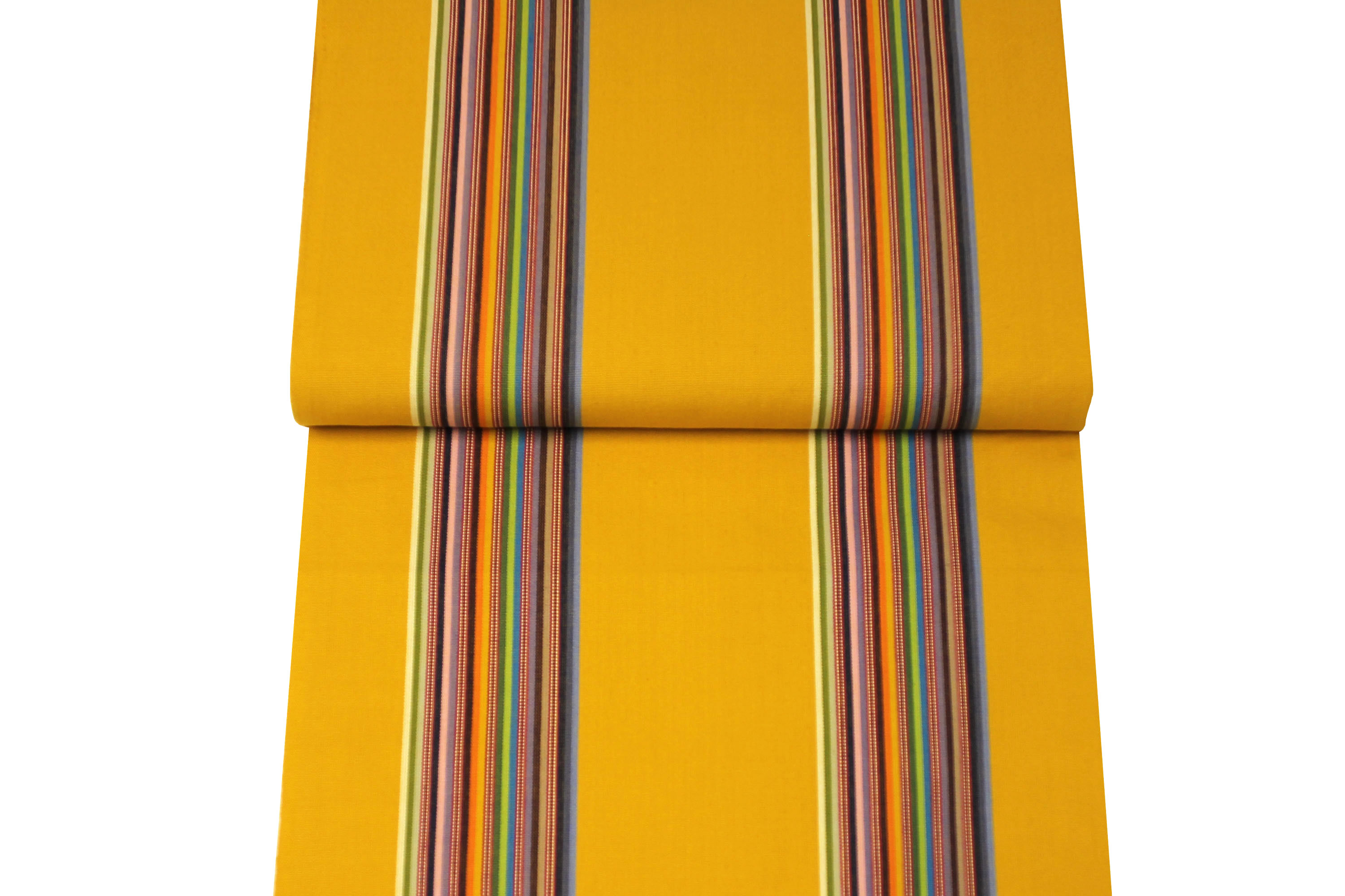 Yellow Deckchair Canvas Fabric | Striped Deck Chair Fabrics | Butterfly Stripe