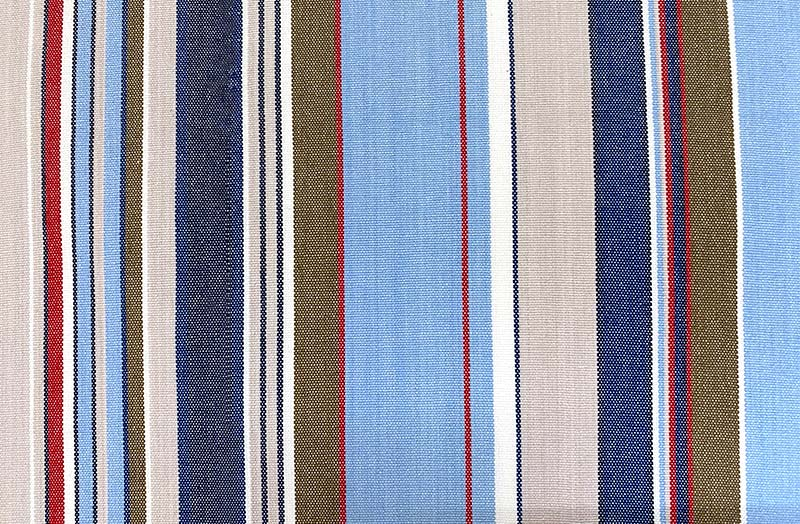 pale blue, light grey, royal blue - Deckchair Canvas | Deckchair Fabrics | Striped Deck Chair Fabrics
