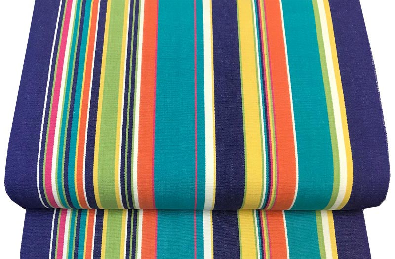 Yachting Royal Blue Deckchair Canvas The Stripes Company Uk