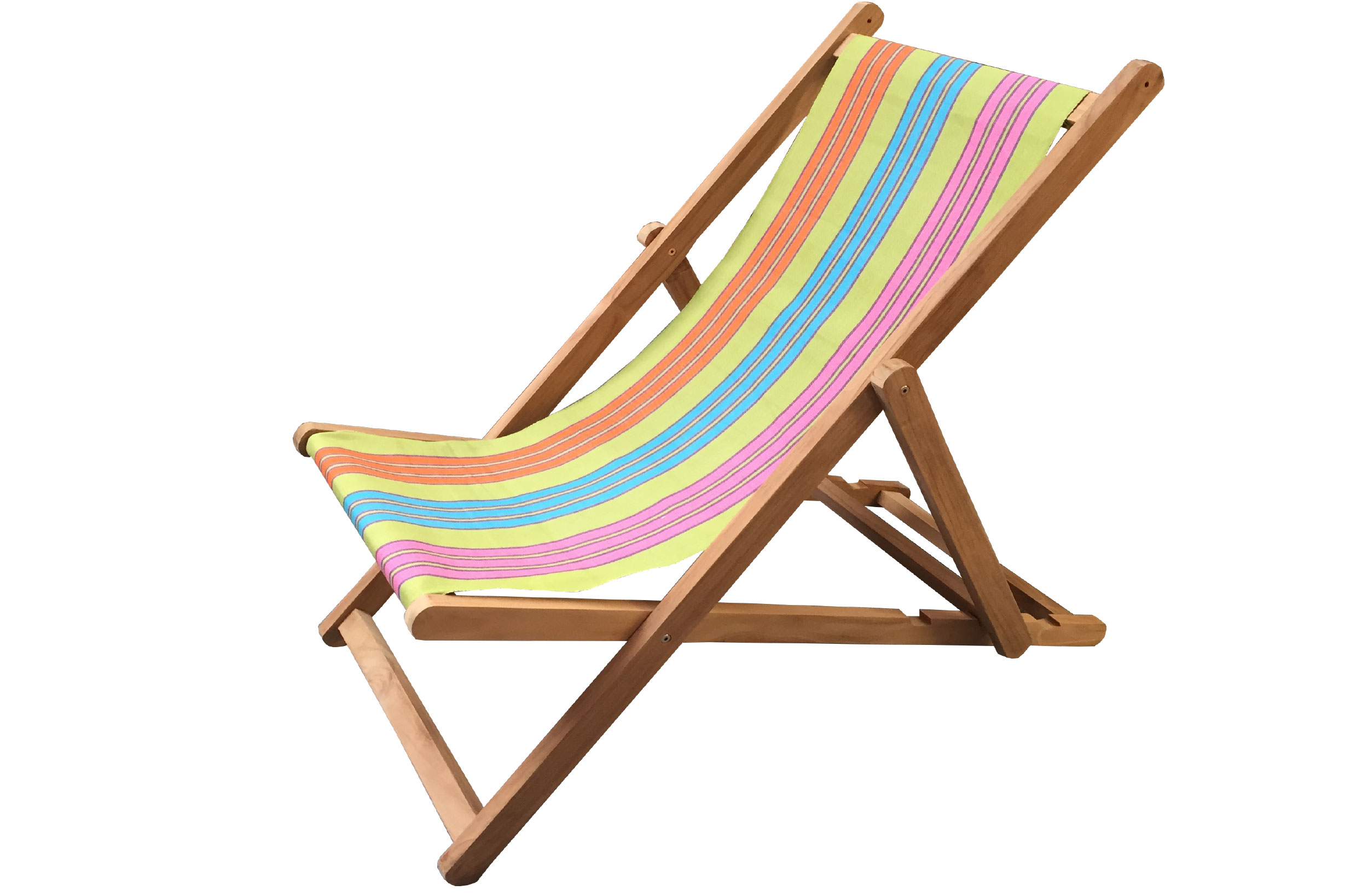green, turquoise, pink - Deckchairs | Buy Folding Wooden Deck Chairs