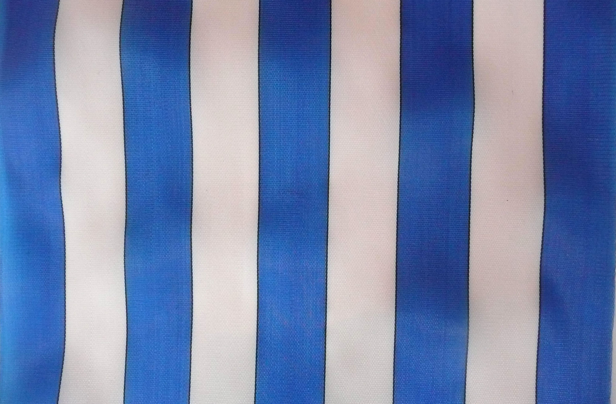 Blue and White Waterproof Deckchair Fabric