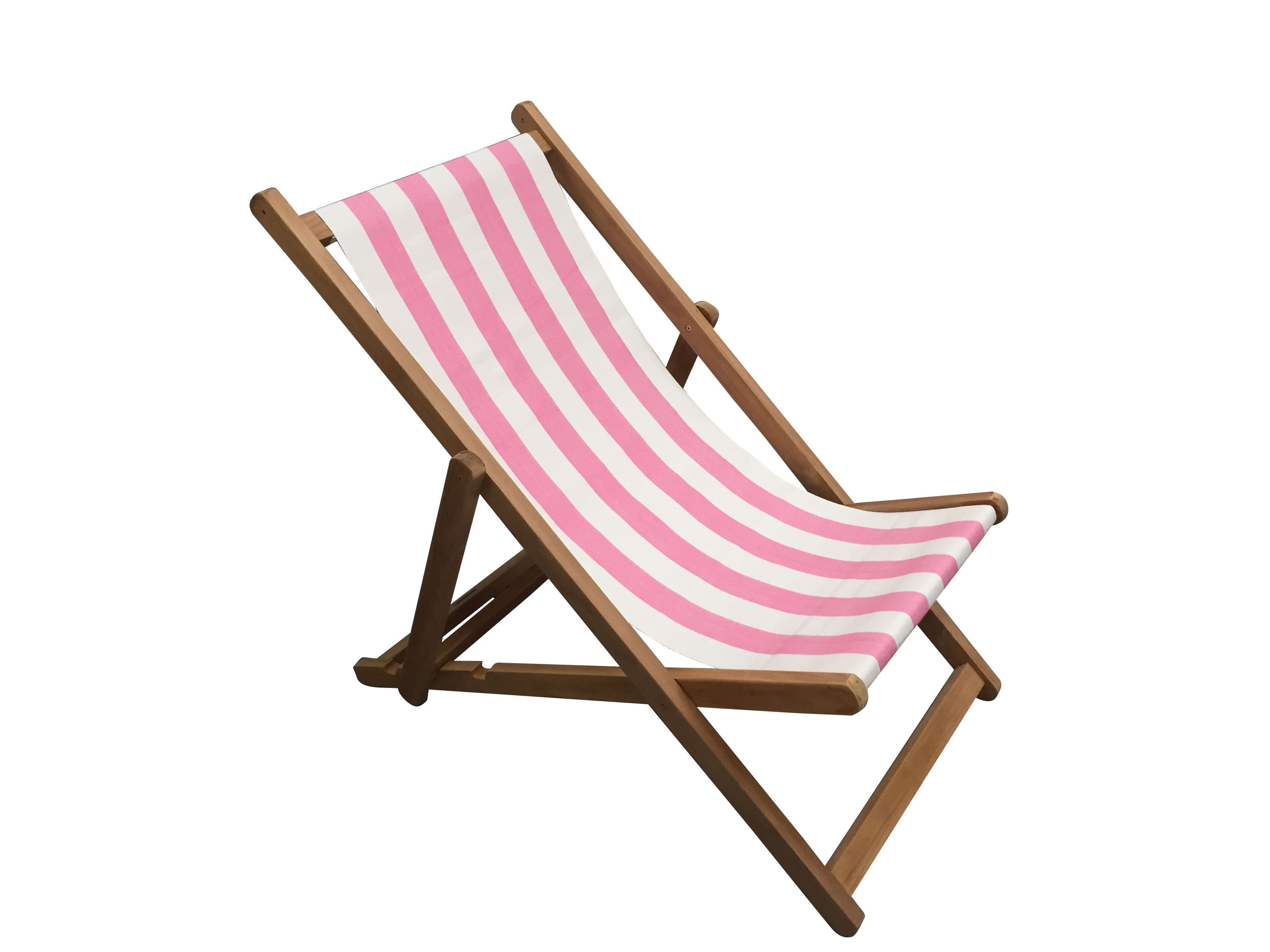 pink and white stripe deckchairs the stripes company uk. Black Bedroom Furniture Sets. Home Design Ideas