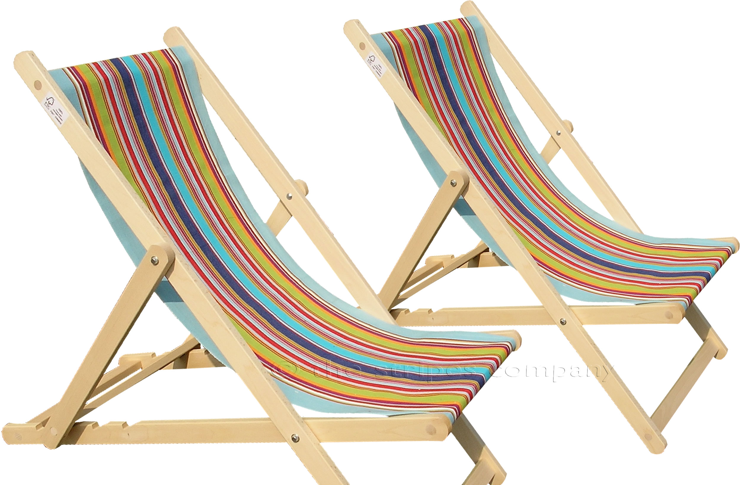 Pale Blue Deckchair Canvas Deckchair Fabrics Striped