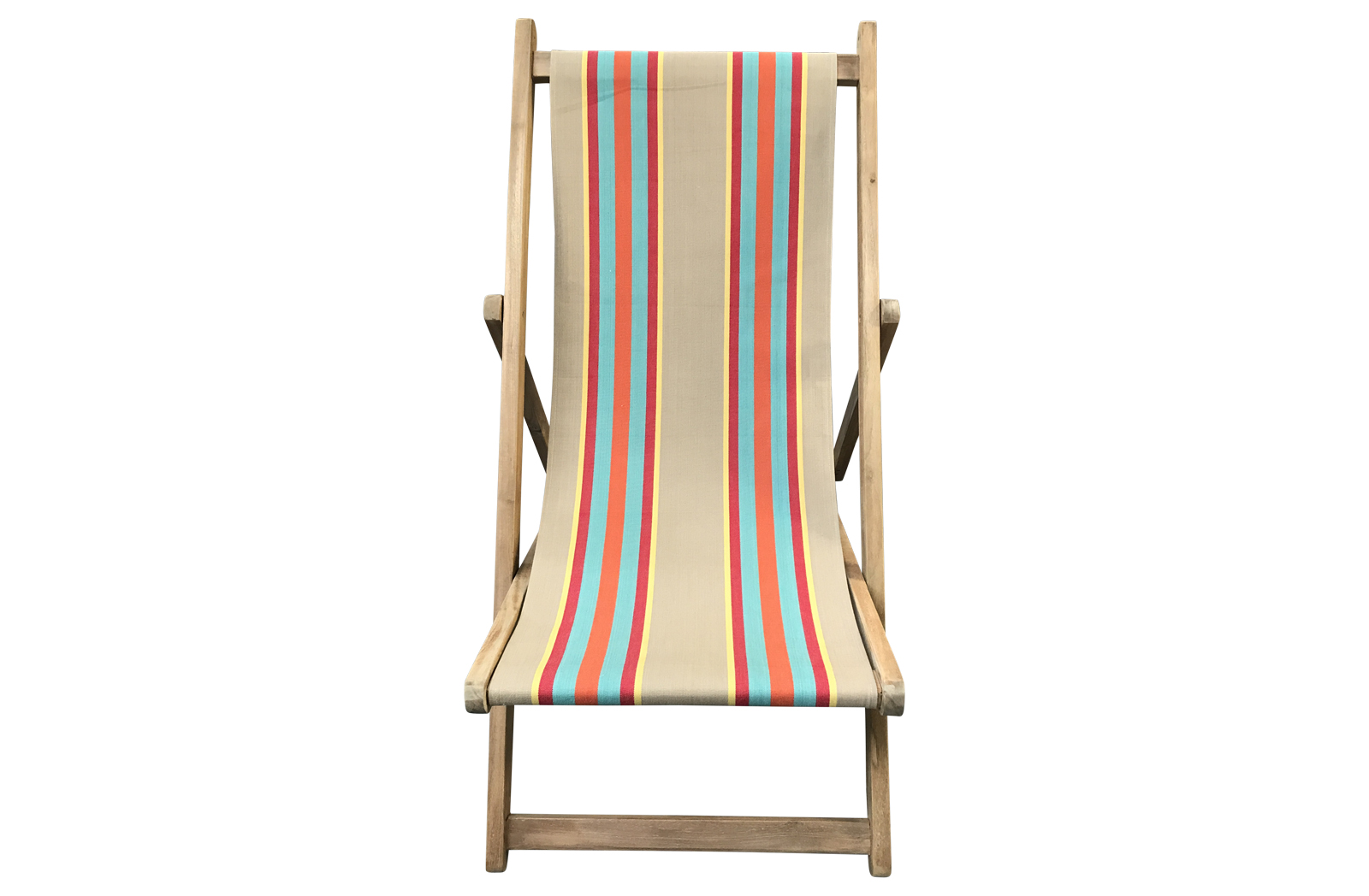 fawn, terracotta, turquoise - Deckchairs | Buy Folding Wooden Deck Chairs