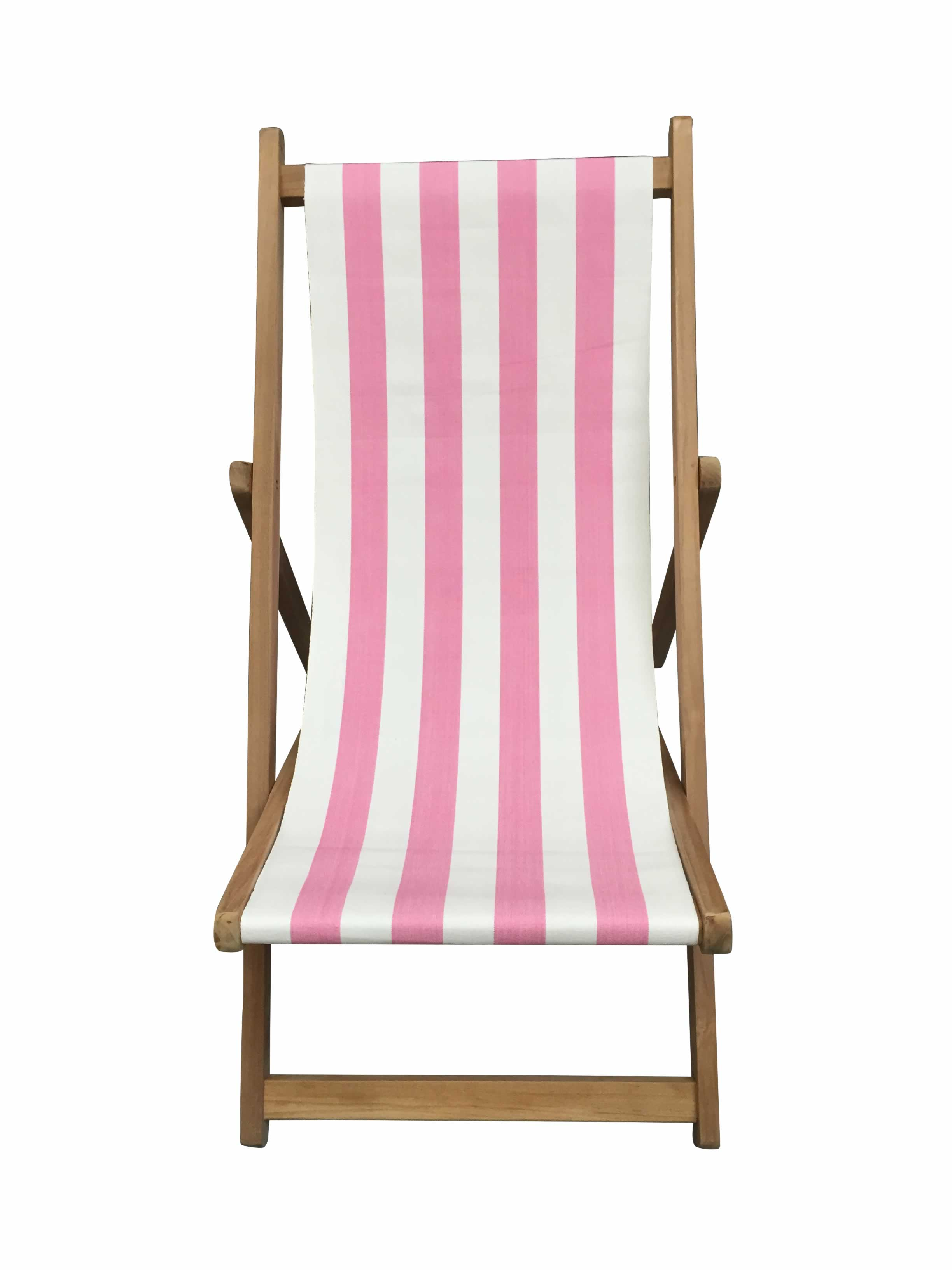 Pink And White Stripe Deckchairs The Stripes Company Uk