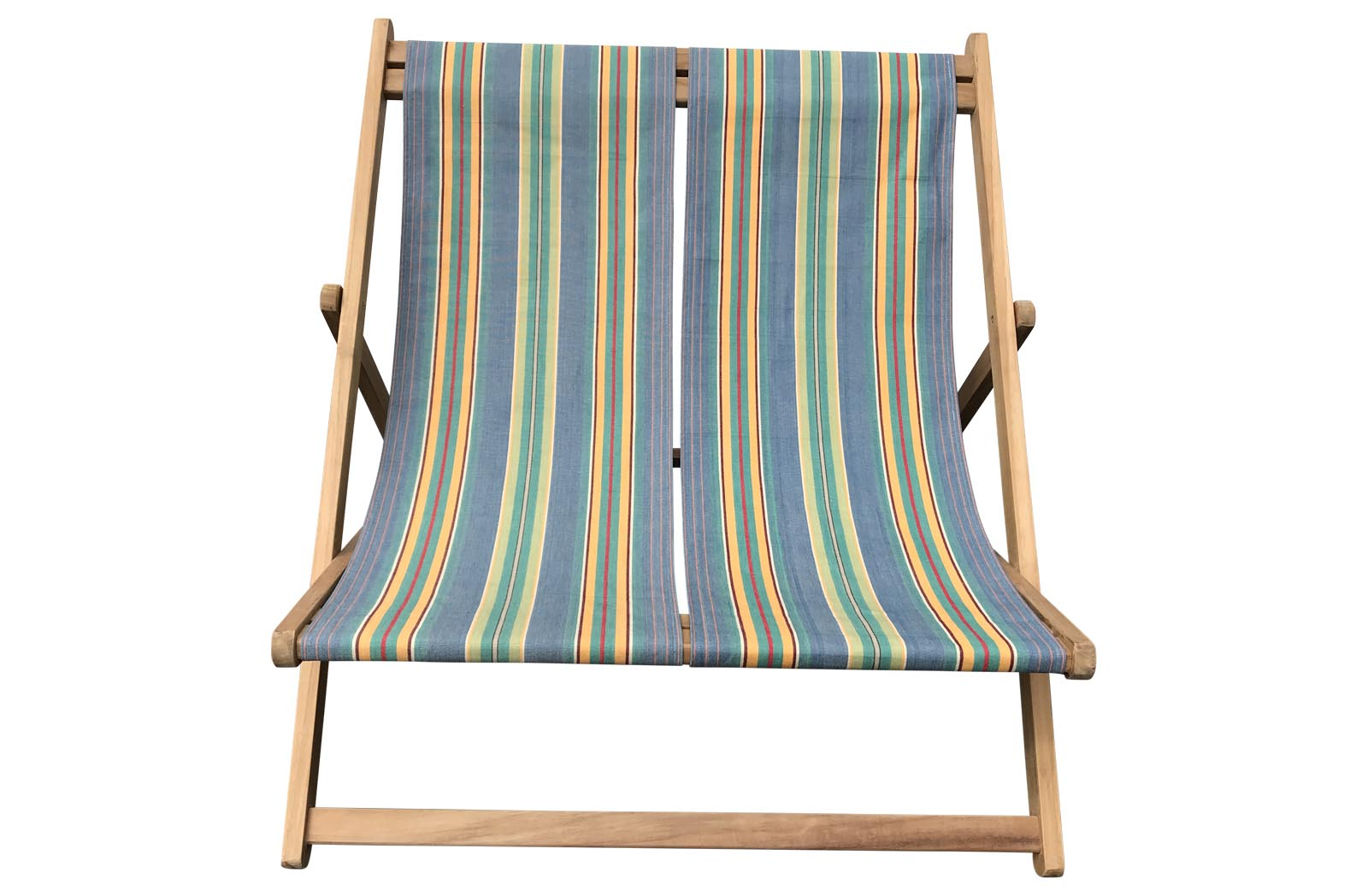 Double Deckchairs Sky blue, jade green
